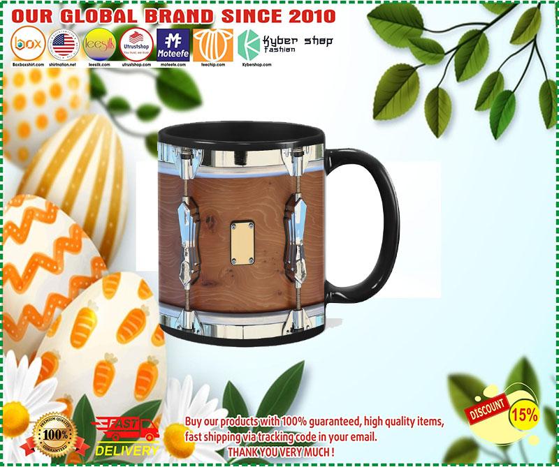 Brown drum mug 1 1