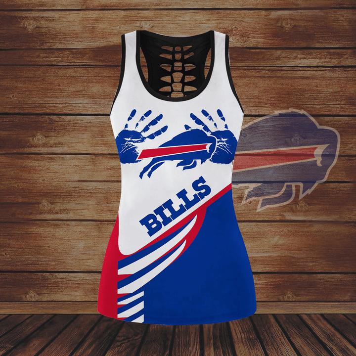Buffalo Bills hollow tank top and legging1