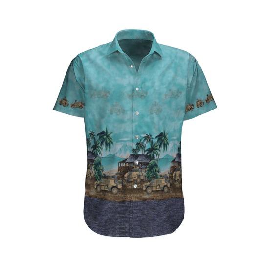 Bushmaster PMV australian army hawaiian shirt 1