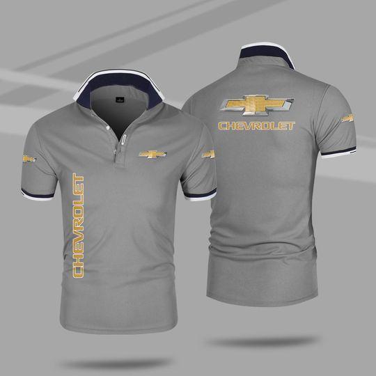 Chevrolet 3d polo shirt 5 1