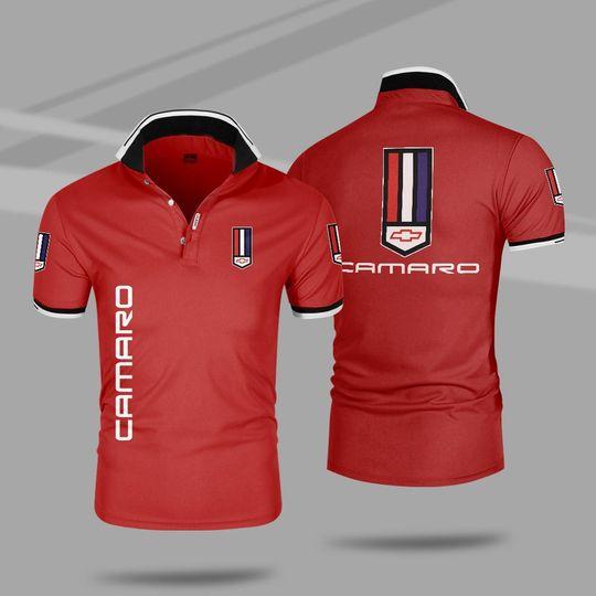 Chevrolet camaro 3d polo shirt 3 1