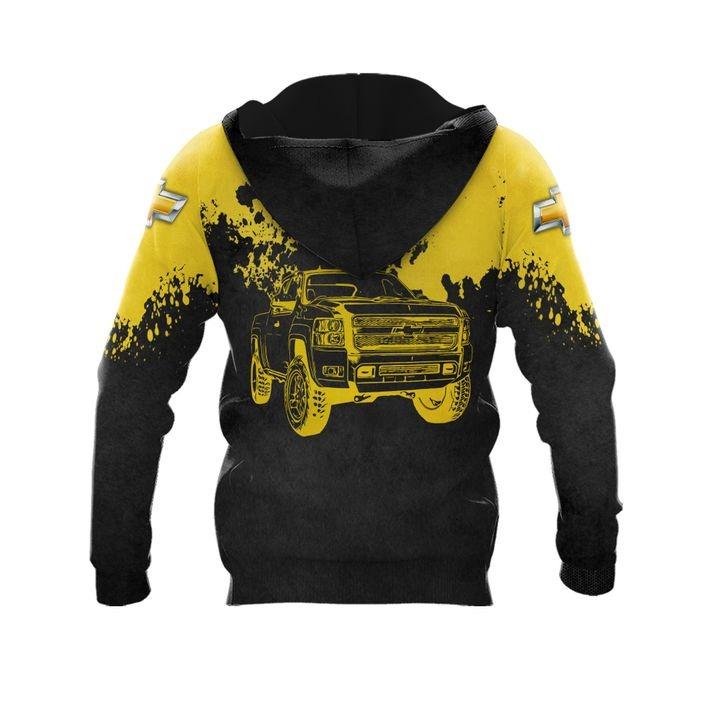 Chevrolet punisher skull 3d over print hoodie 2 1