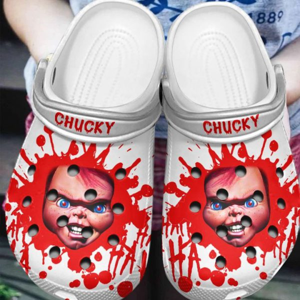 Chucky Crocs Crocband Shoes