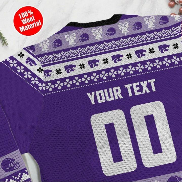 Kansas State Wildcats Custom Ugly Christmas Sweater 4