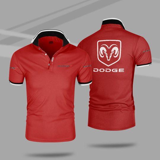 Dodge 3d polo shirt 3 1