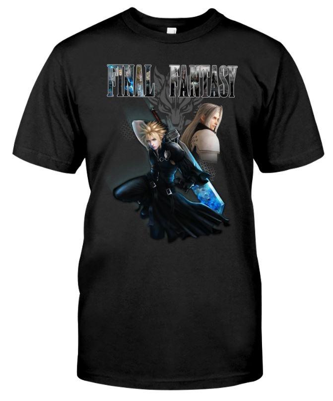 Final fantasy unisex shirt