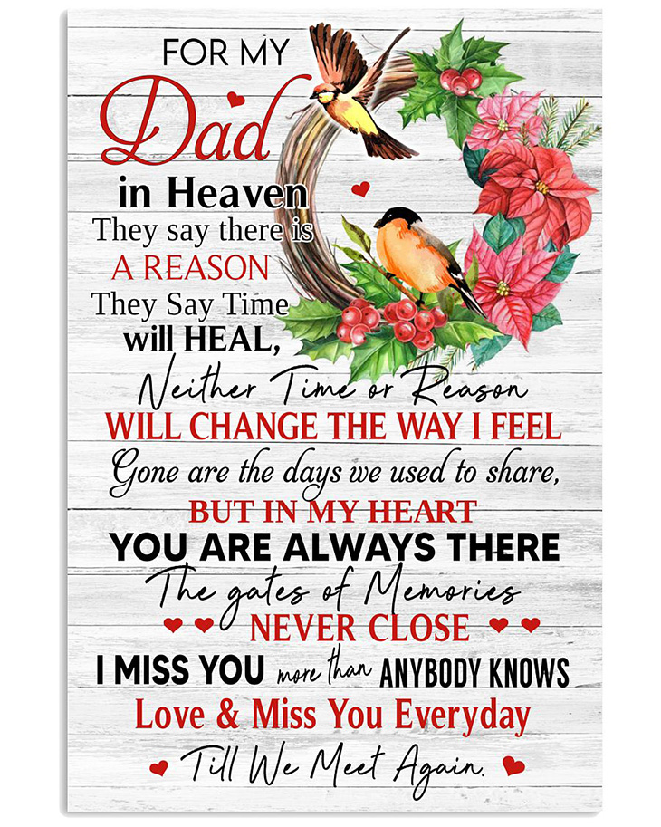 For My Dad In Heaven Poster