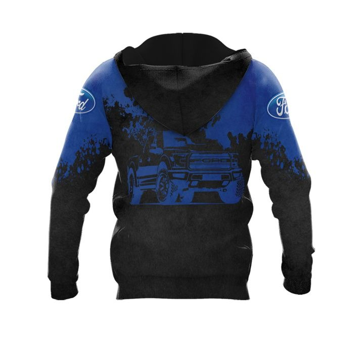 Ford punisher skull 3d over print hoodie 2 1