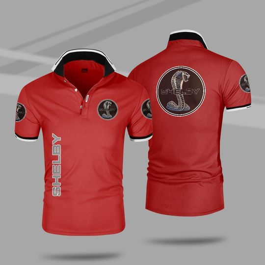 Ford shelby 3d polo shirt 3 1
