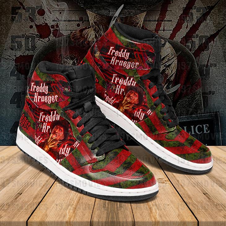 Freddy Krueger A Nightmare On Elm Street JD Sneakers Custom Shoes