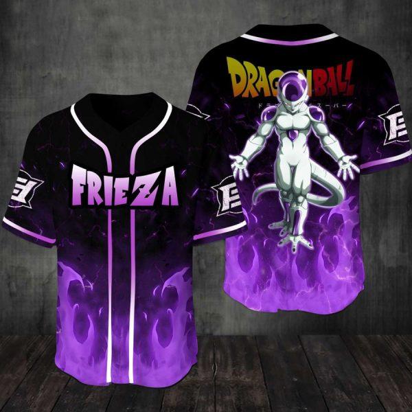 Frieza Dragonball Baseball Jersey Shirt
