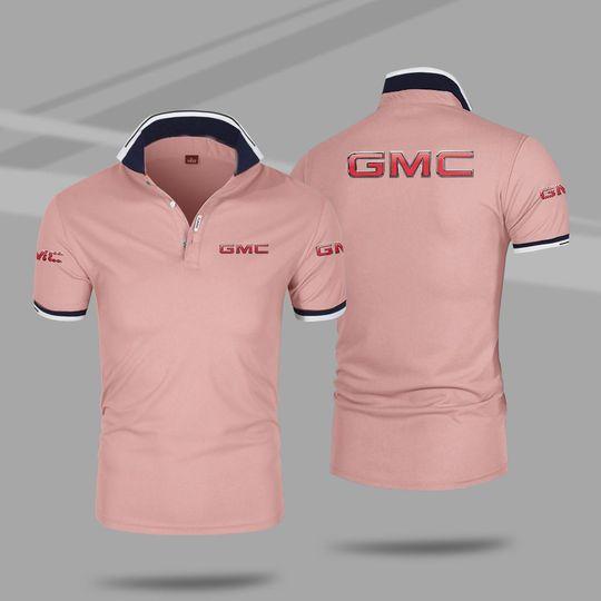 GMC 3d polo shirt 4 1