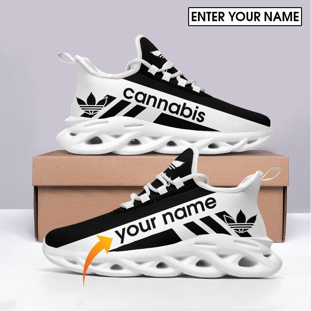 Cannabis max soul clunky custom name shoes 1