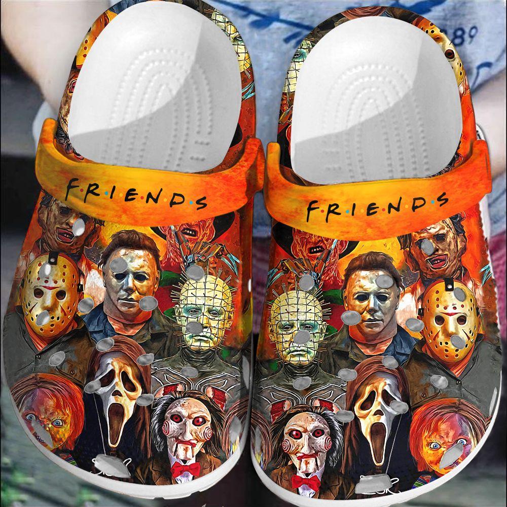 Halloween Friends Crocs Crocband Clog