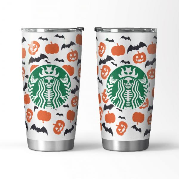Halloween Starbucks Tumber
