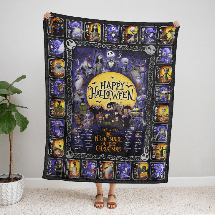 Happy Halloween Blanket