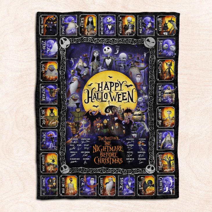 Happy Halloween Blanket1