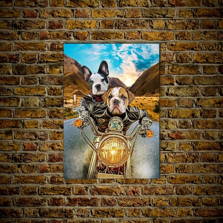 Harley Wooferson Pet Poster1