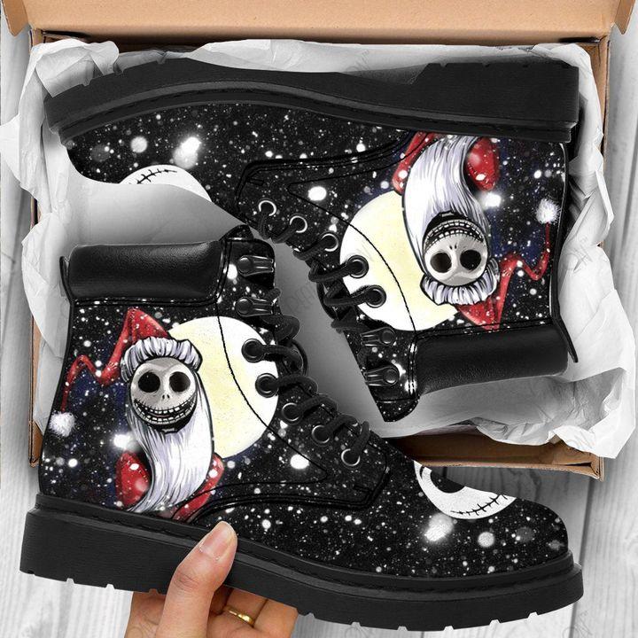 Jack Skellington Santa Clause timberland boot Shoes