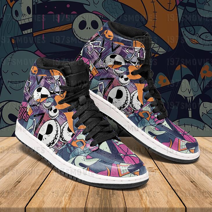 Jack Skellington The Nightmare Before Christmas JD Sneakers Custom Shoes