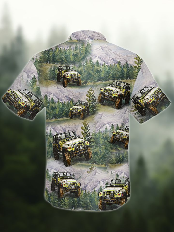 Jeep Forest Hawaii shirt1