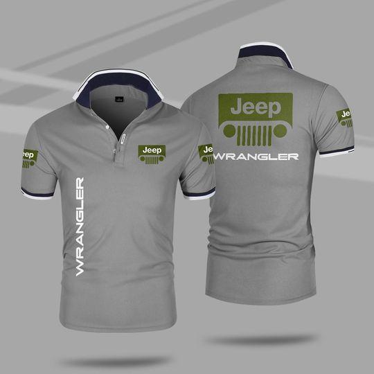 Jeep wrangler 3d polo shirt 5 1