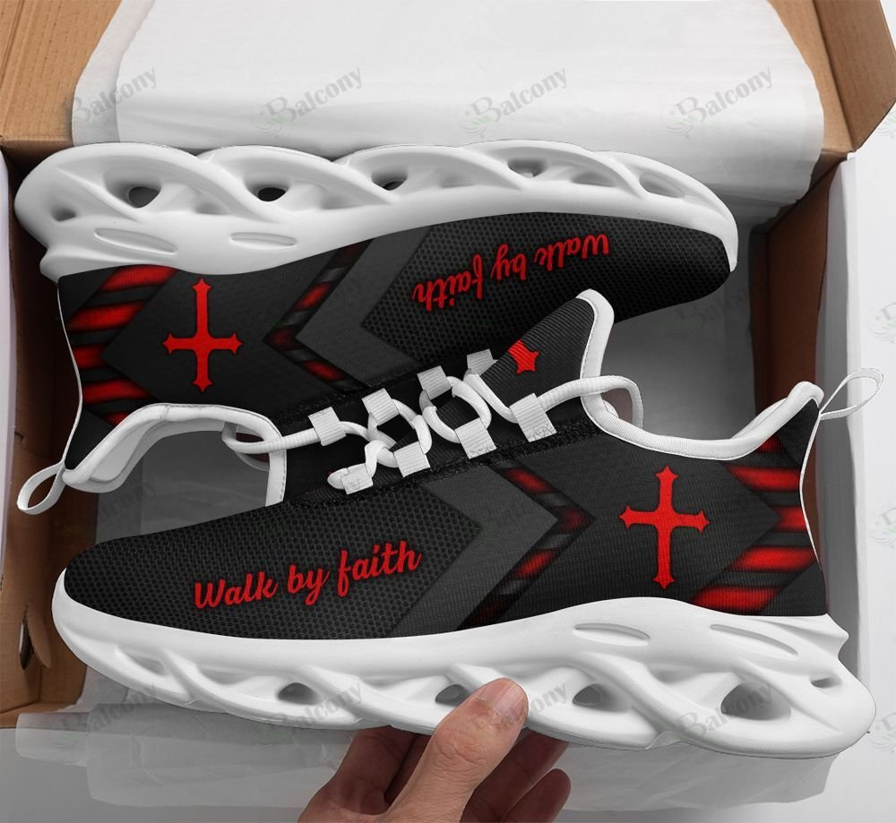 Jesus walk by faith max soul clunky shoes
