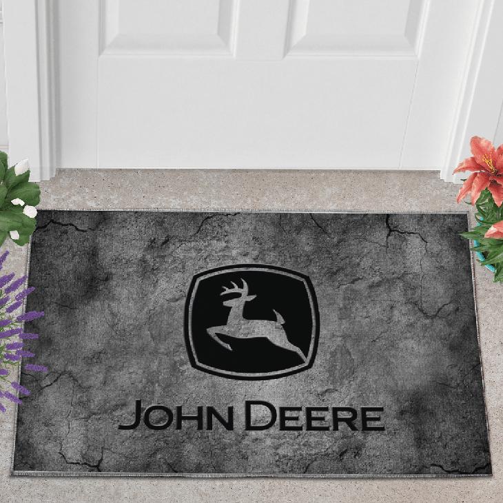 John Deere Printed Doormat