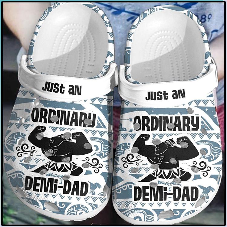 Just An Ordinary Demi Dad Crocs Crocband Clog 2