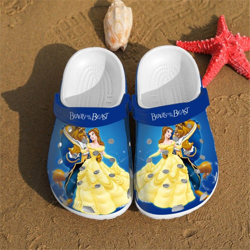 Beauty and the Beast crocs crocband shoes 1