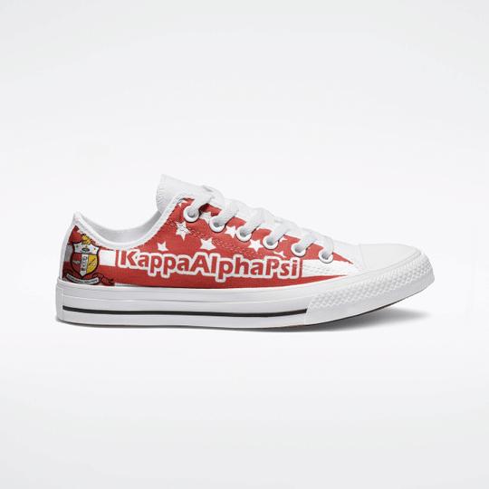 Kappa Alpha PSI Low Top Shoes