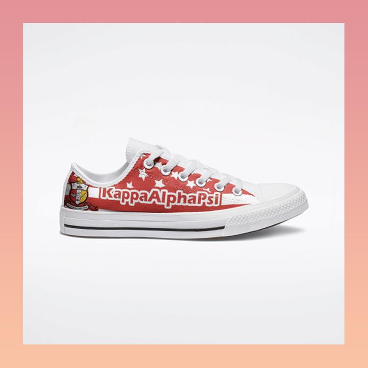 Kappa Alpha PSI Low Top Shoes1