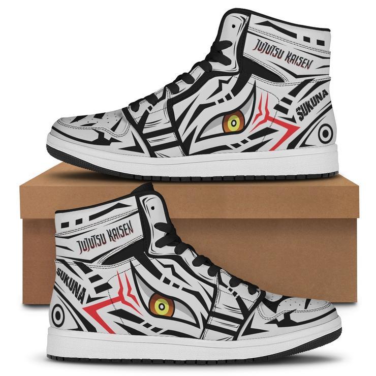 King Sukuna air jordan high top Sneakers