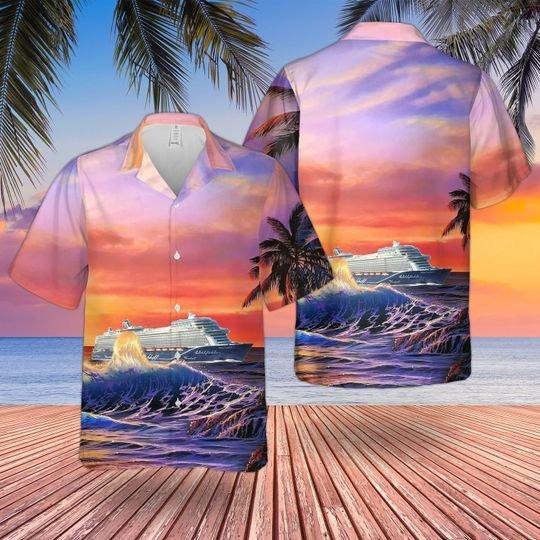 TUI cruises mein schiff hawaiian shirt 1