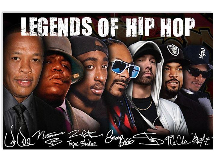 Legends Of Hip Hop poster