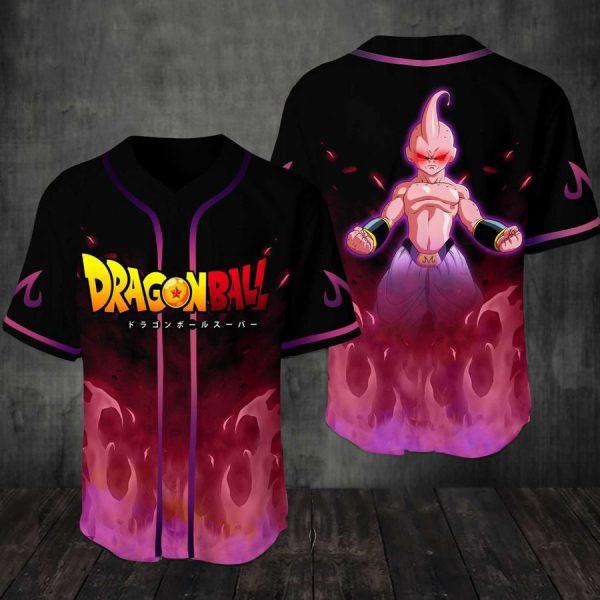Mabu Dragonball Baseball Jersey Shirt