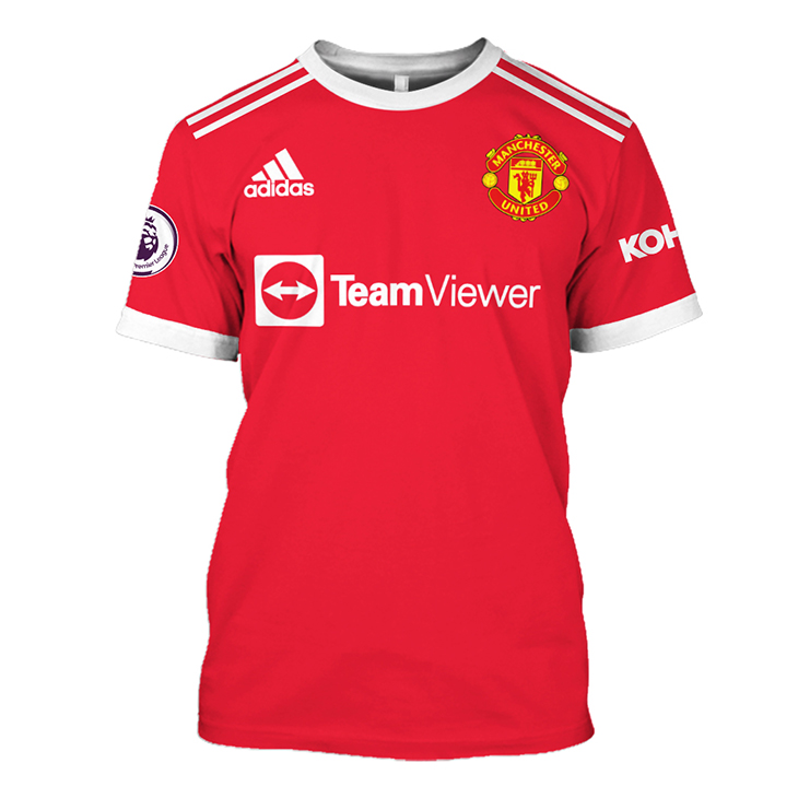 Manchester United TeamViewer Hoodie And Shirt2