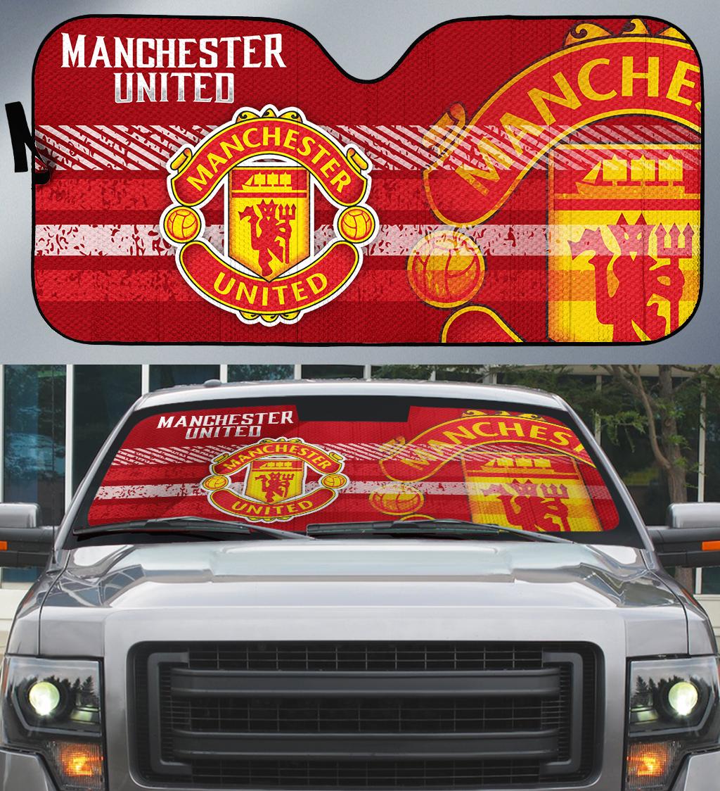Manchester United auto car sunshade 1