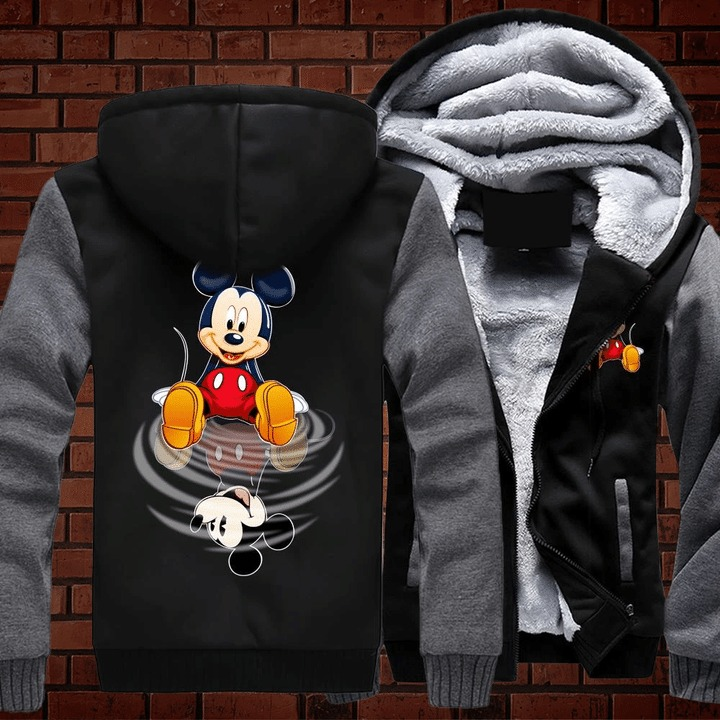Mickey mouse disney 3d fleece hoodie 1