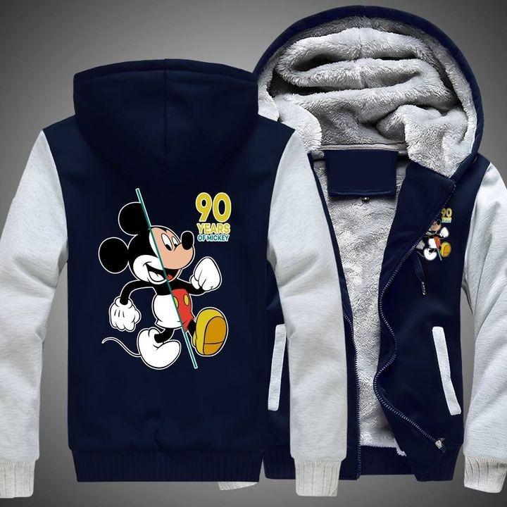 Mickey mouse disney 3d fleece hoodie 4