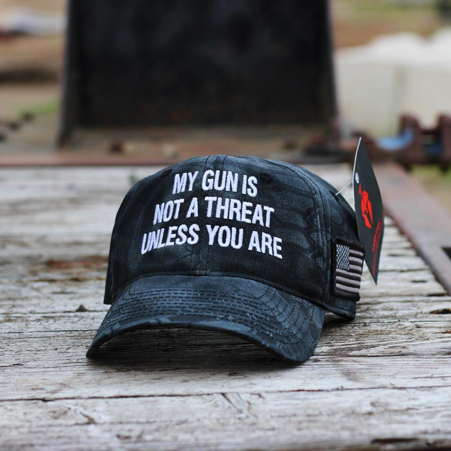 My Gun Is Not A Threat Unless You Are Hat Cap