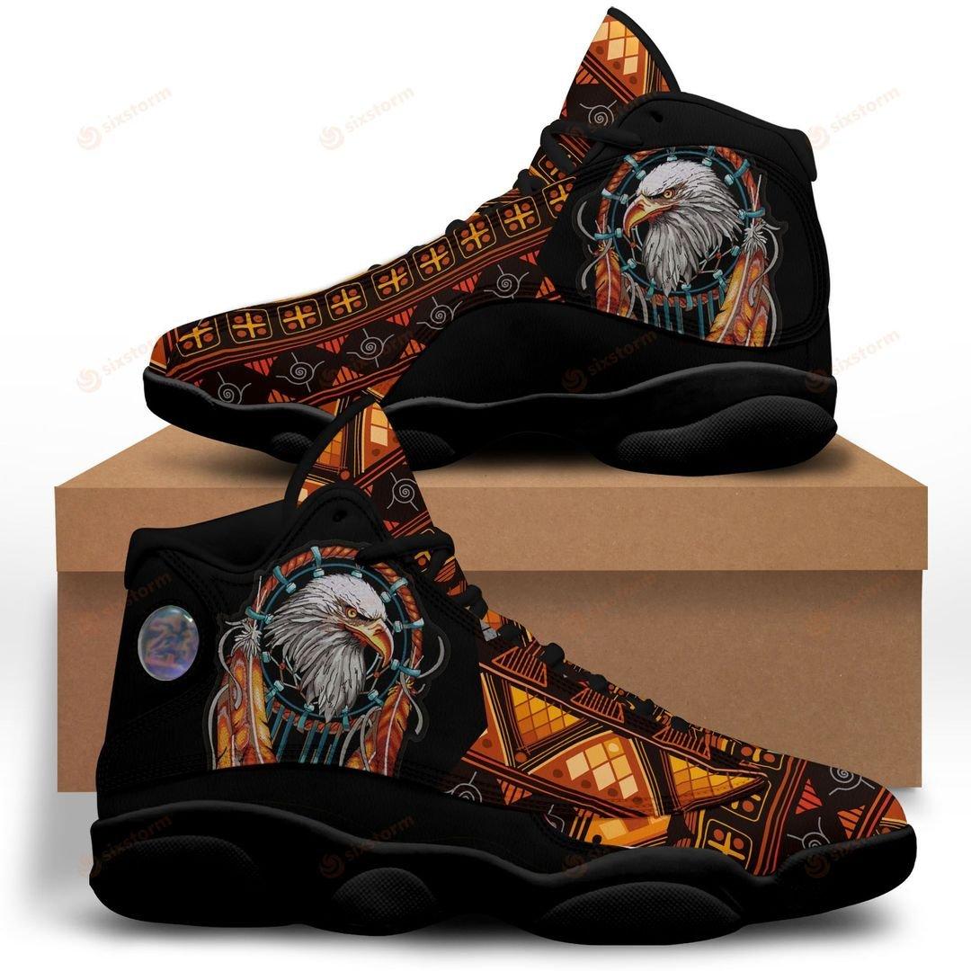 Native American Eagle Jordan 13 Sneaker