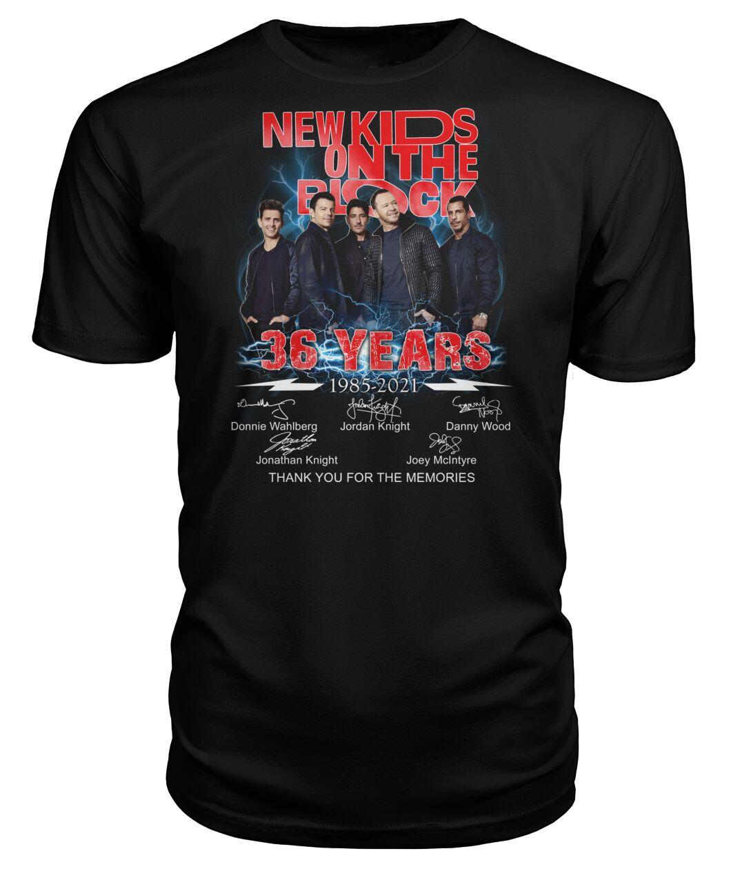 New Kids On The Block 36 Years 1985 2021 Shirt