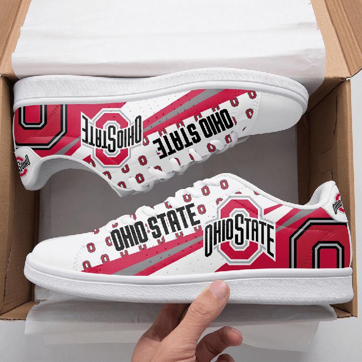 Ohio State Buckeyes Stan Smith Shoes