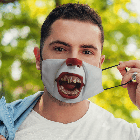 Pennywise Horror Mask1
