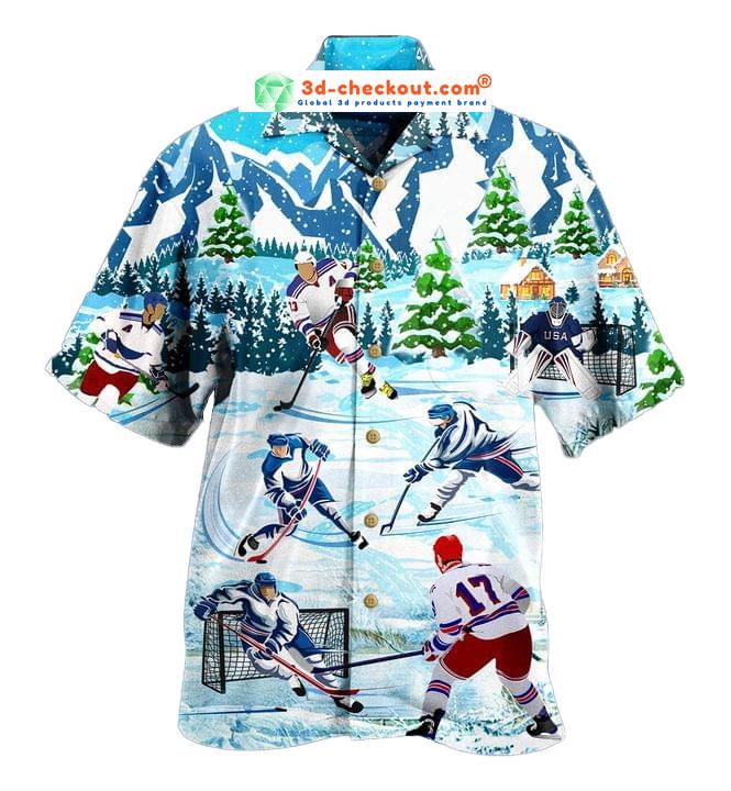 Play Ice Hockey Short Sleeve Shirt