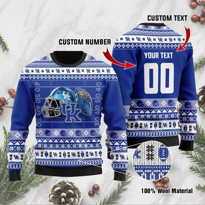 Kentucky Wildcats Custom Ugly Christmas Sweater 1