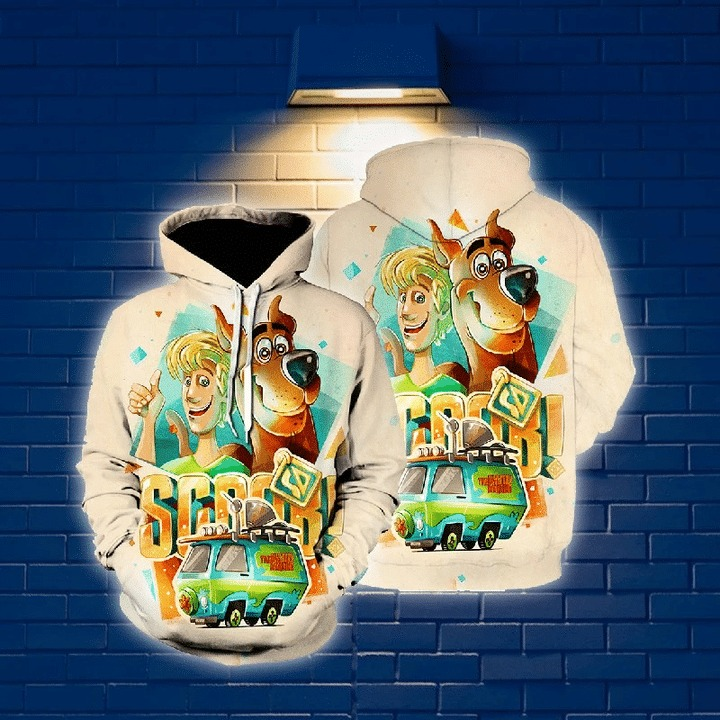 Scoopy doo 3d all over print hoodie 1 1