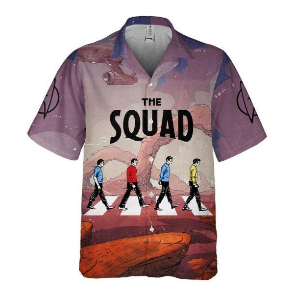 Star Trek The Squad Hawaiian Shirt