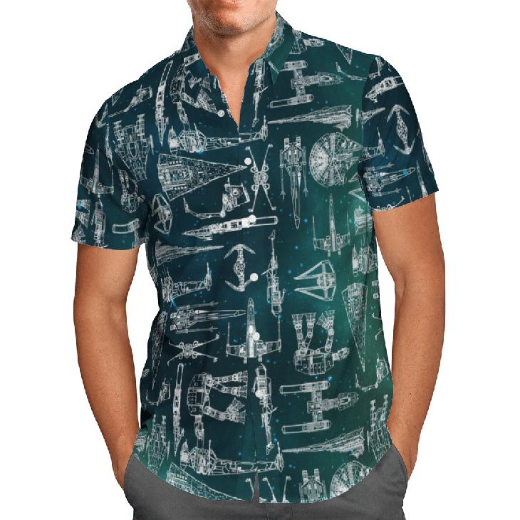 Star War Hawaiian Shirt4
